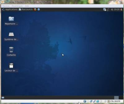 Xbuntu juste installée